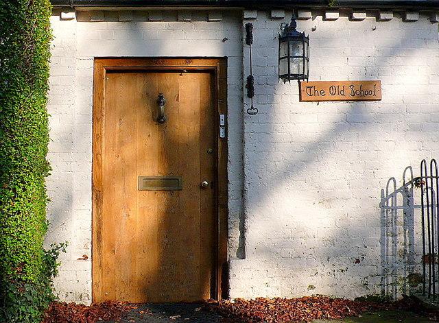 Old Village School Door
