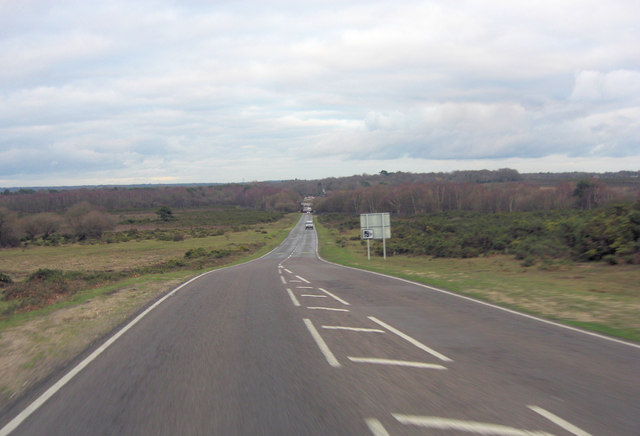 B3055 northeast of Sway