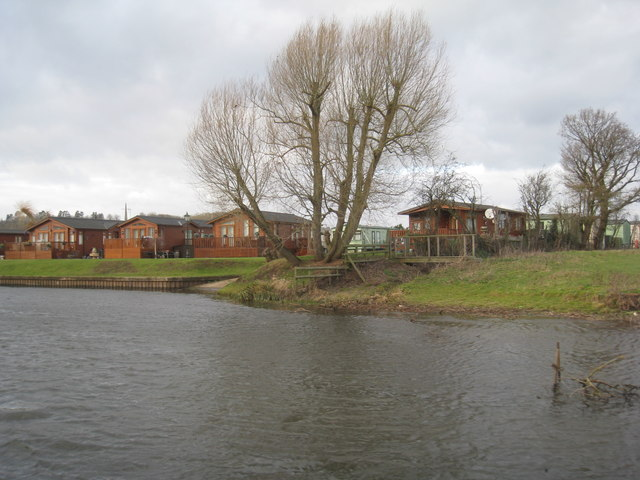 Holiday chalets by the Avon