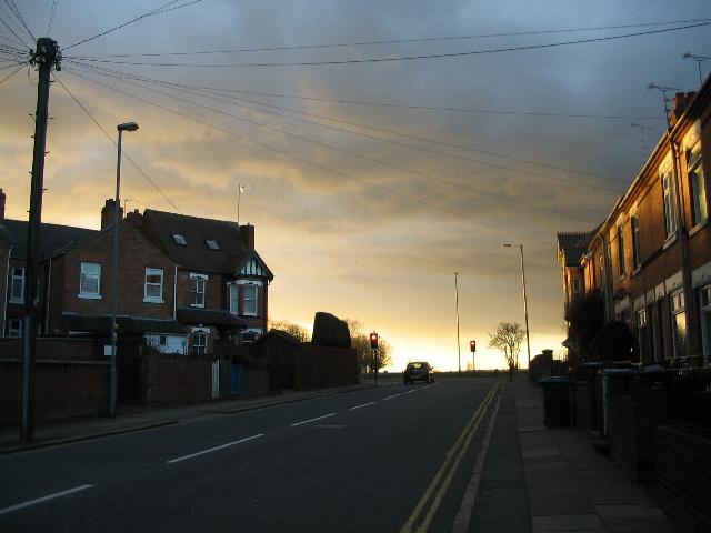 Top of Broomfield Road