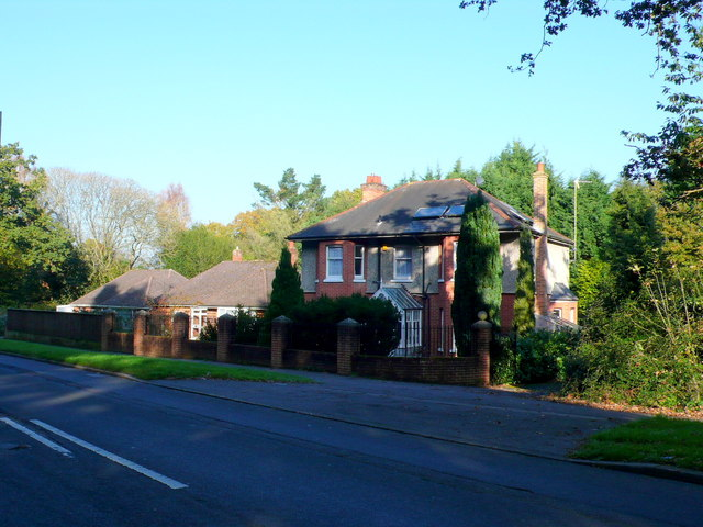 House on the Wimborne Road