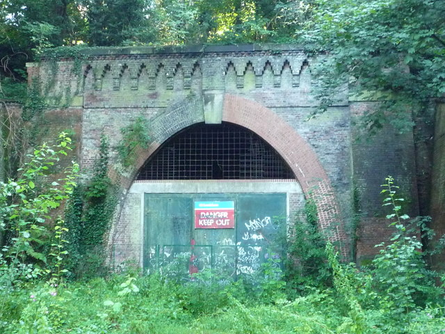 Paxton Tunnel, north portal