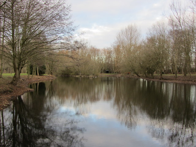 Pond at Landwade