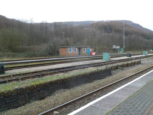 Lineside building, Treherbert railway station