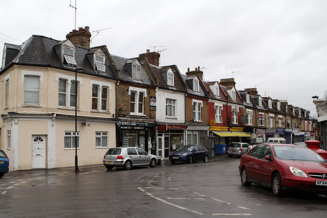 Shops on Whittington Road