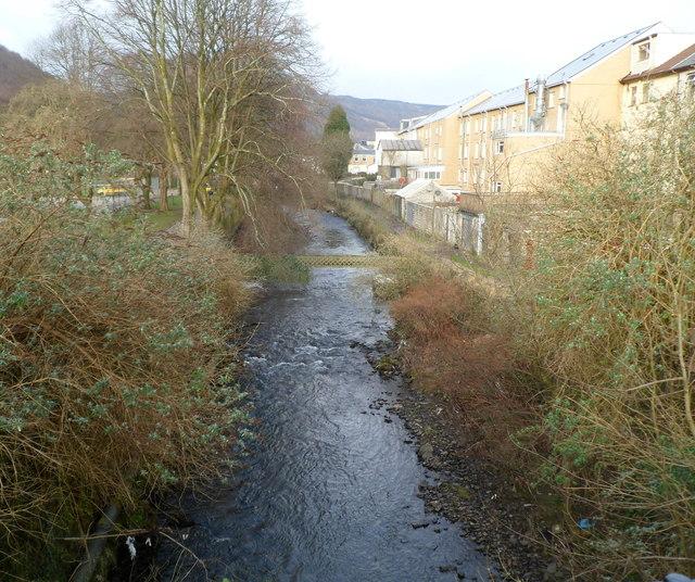 Rhondda Fawr river, Treherbert
