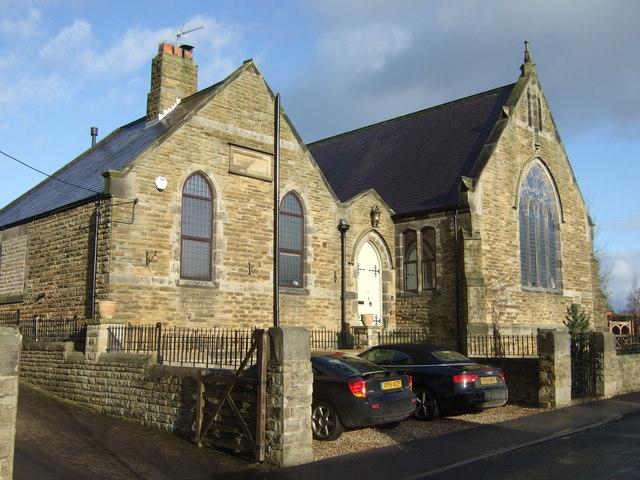 Converted chapel, Shaw Mills
