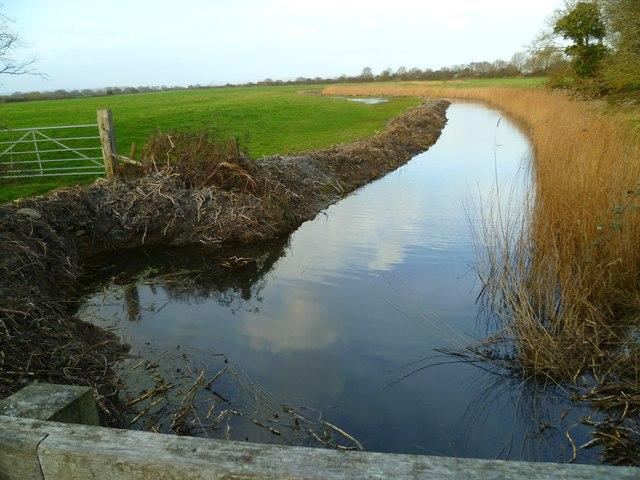 Drainage south of Marsh Farm