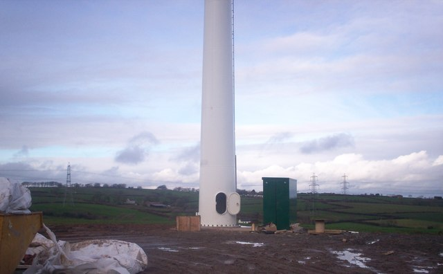 Wind Turbine, Crossland's Road, Llanteg