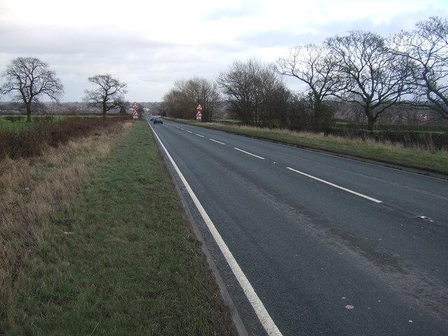 Skipton Road (A59) heading east