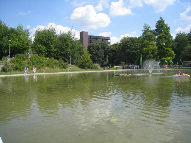 Eastrop Boating Lake