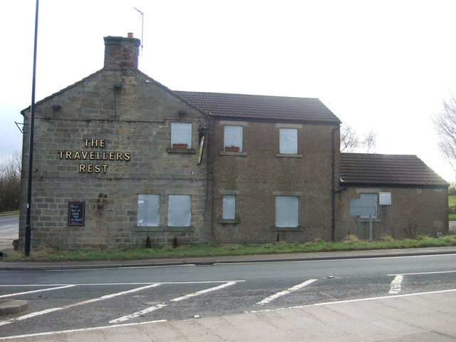 The Travellers Rest, Oaker Bank