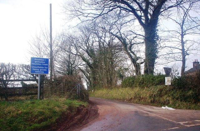 Crossland's Road, Llanteg