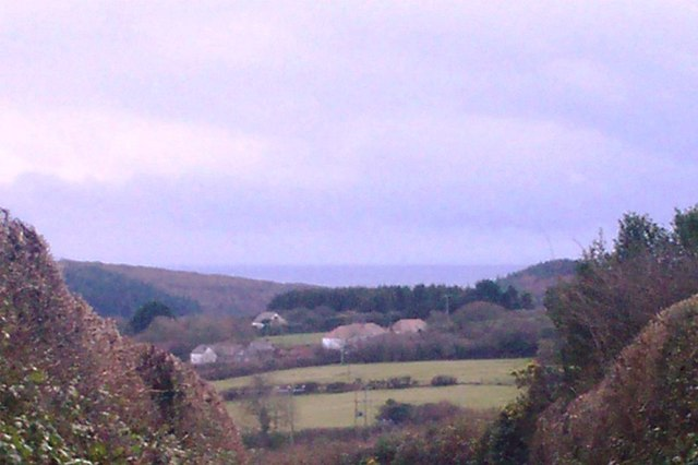 From Rectory Hill, Llanteg