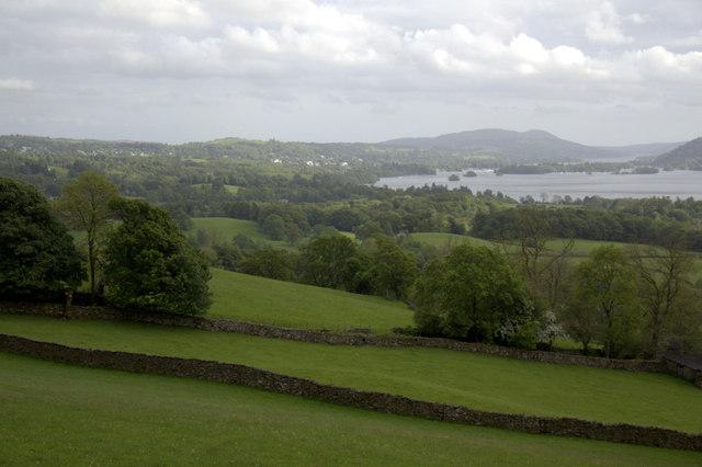 Farmland near Holbeck Lane, Ambleside, Cumbria