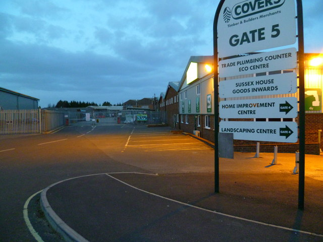 Covers Gate 5 on Quarry Lane