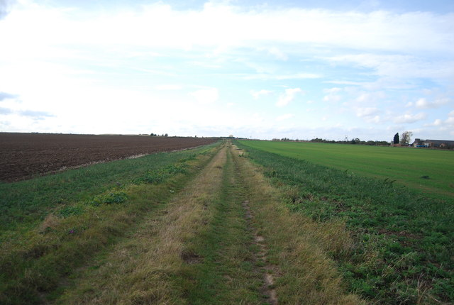 Footpath west from Stoke