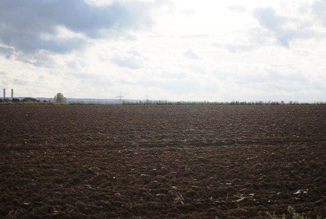 Ploughed land south of Malmaynes Hall Farm