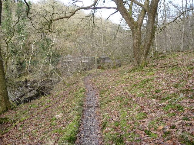 Pont Rhyd-y-cnau on the Nedd Fechan