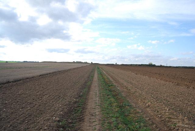 Track to New Barn Farm
