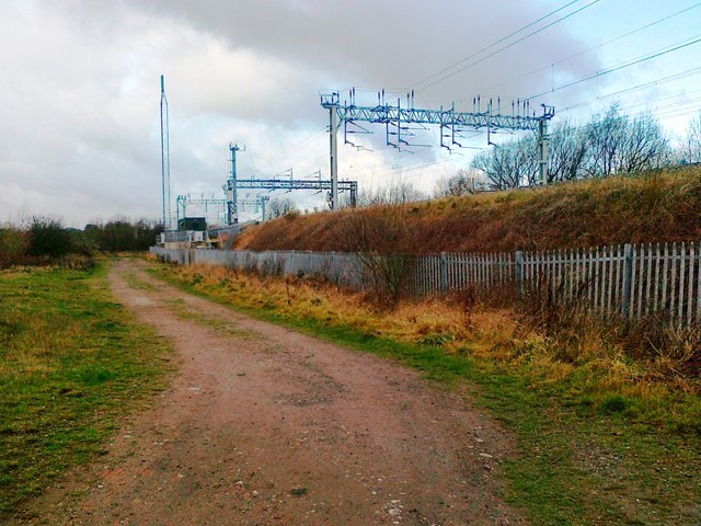 Track and railway, Bolehall