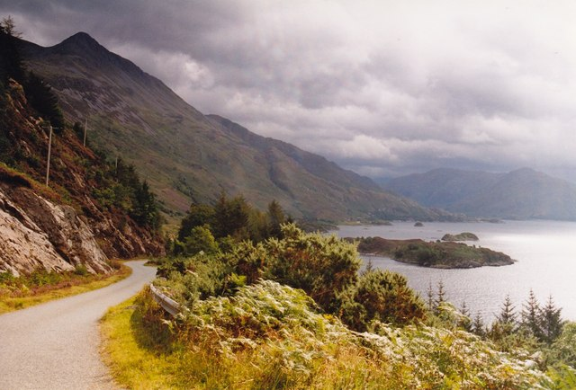 Beinn Sgritheall and Loch Hourn