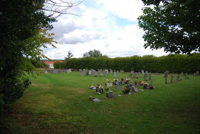 Overflow burial ground, St Peter's Church, Claydon