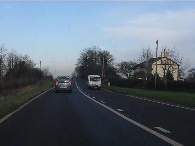 A49 at Quoisley