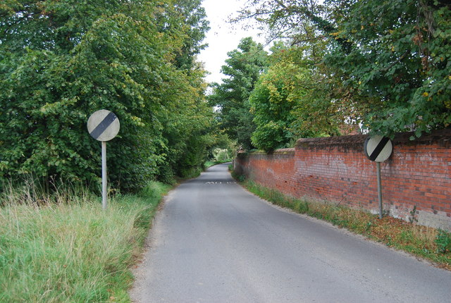 Wall to the Old Rectory, Church Lane