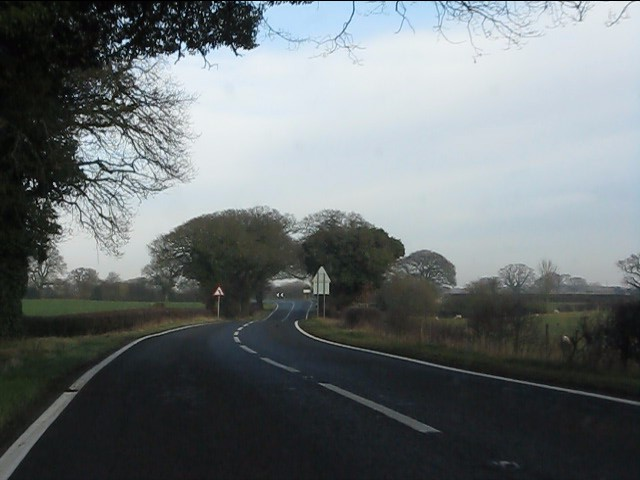 A49 near Barmere House