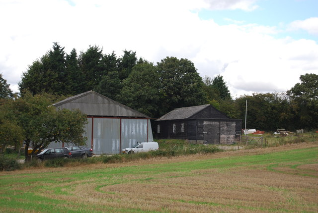 Farm out buildings, The Slade
