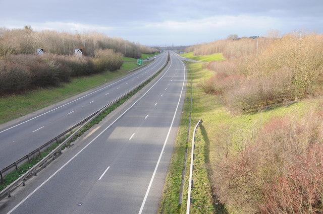 The A417 Dual Carriageway