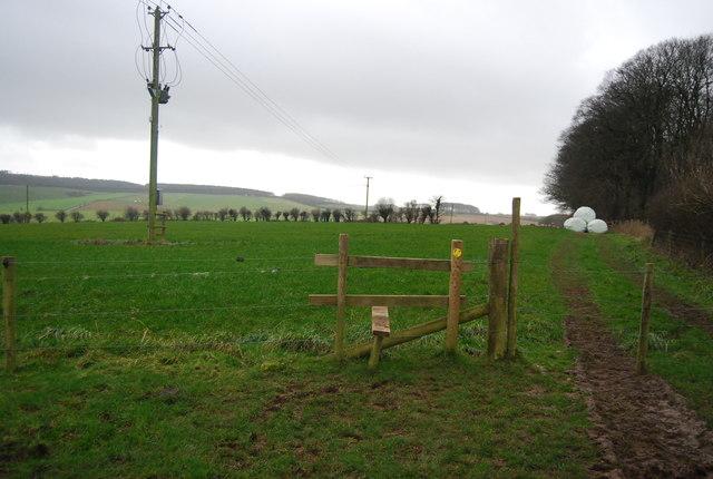 Stile near Big Wood
