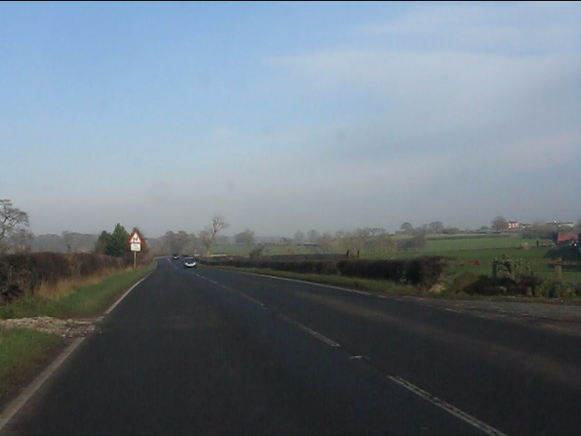 A49 near Fields Farm