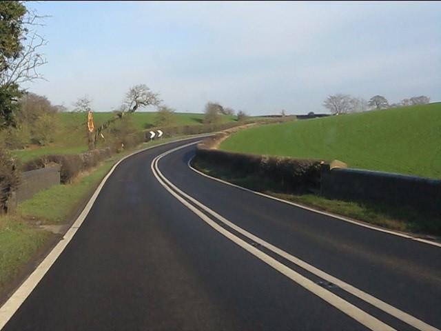 A49 at Cholmondeley Bridge