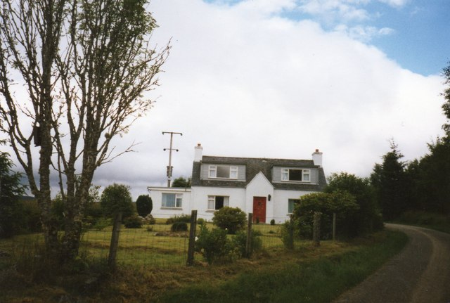 Tyndrum in 1989