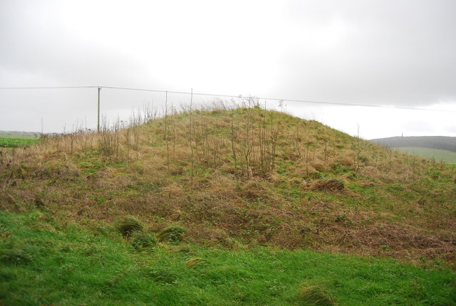 Tumulus, Big Wood Barrow Cemetery