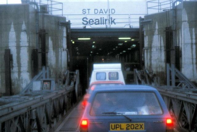 Holyhead Ferry Terminal - 1982