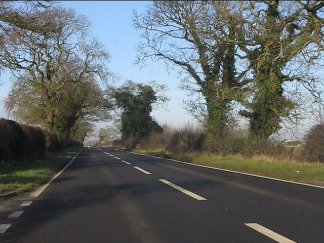 A49 south of Ridley