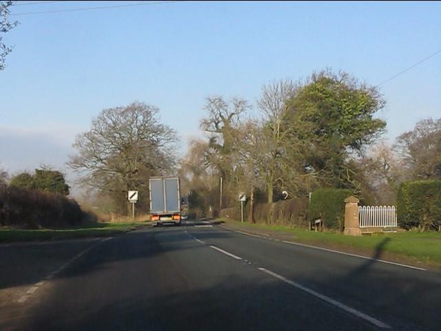A49 at Betty's Lane