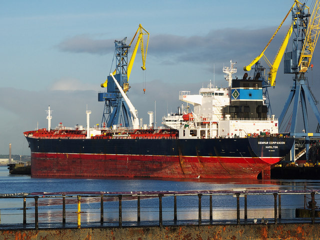 The 'Genmar Companion' at Belfast