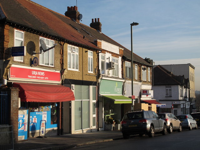 Shops and flats in Bell Lane, NW4