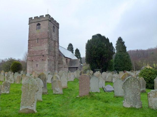St. Clydawg's church, Clodock