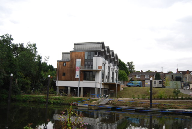 New riverside development, Tovil