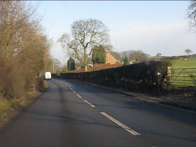 A49 near Luddington Hill
