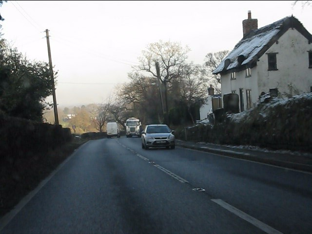 A49 near Lime Tree Farm