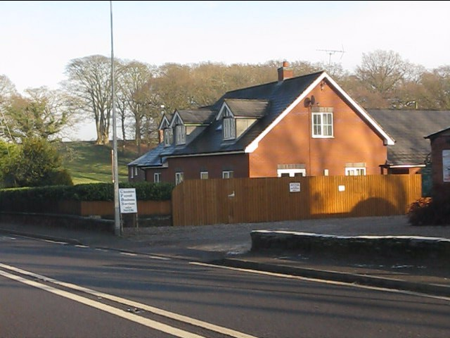 New houses by Cotebrook crossroads
