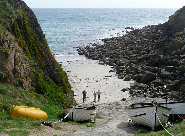 Slipway at Porthgwarra