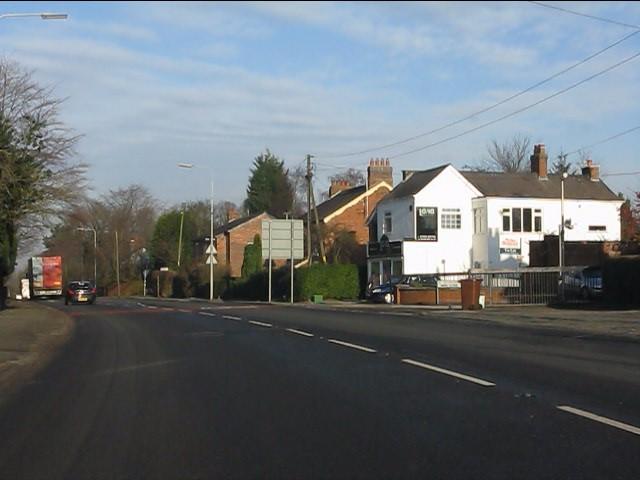A49 at Manor Close, Cuddington