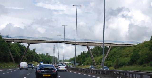 Farm access bridge, M74